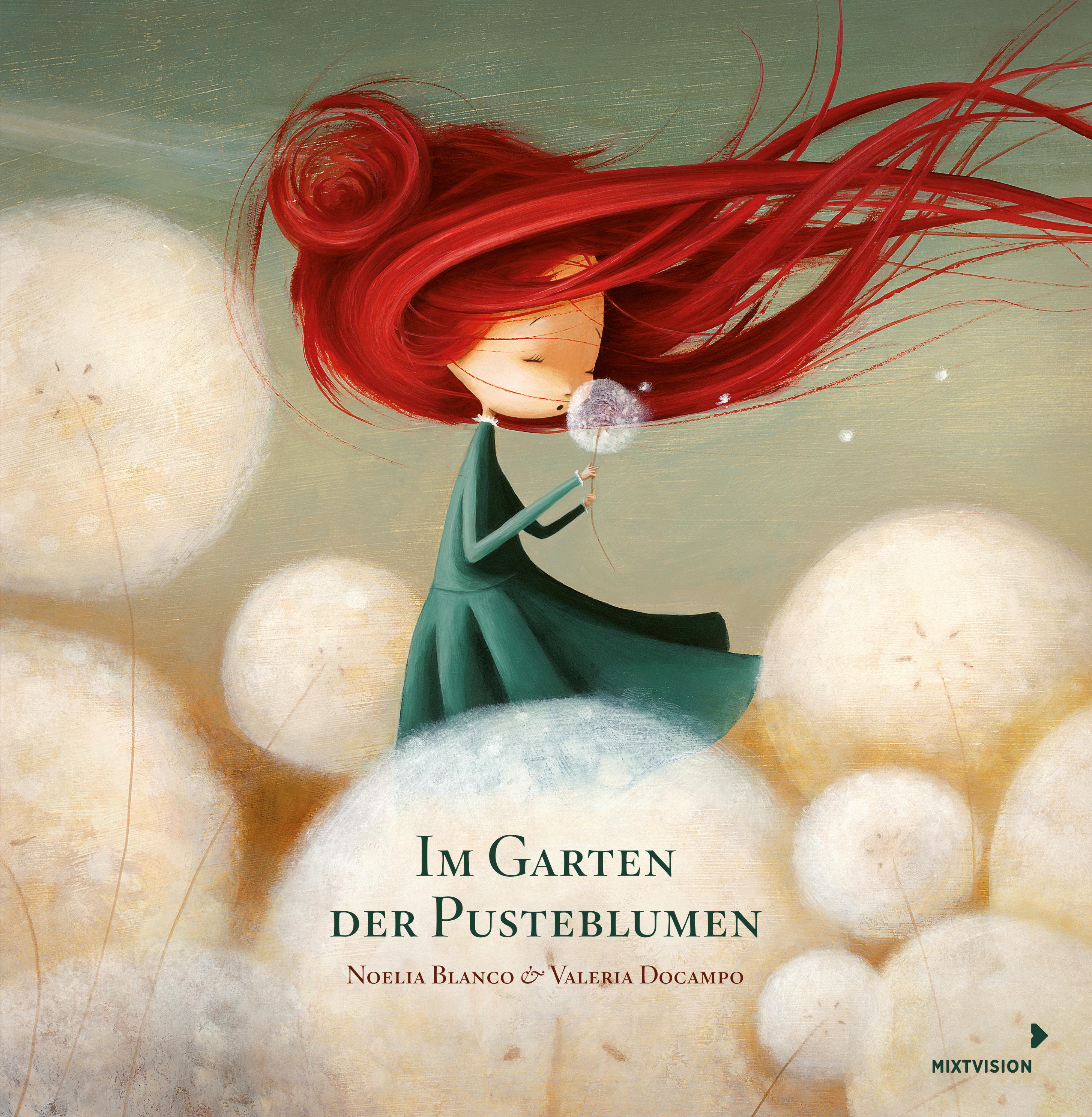 """""""Im Garten der Pusteblumen"""" von Noelia Blanco und Valeria Docampo, Bilderbuch"""