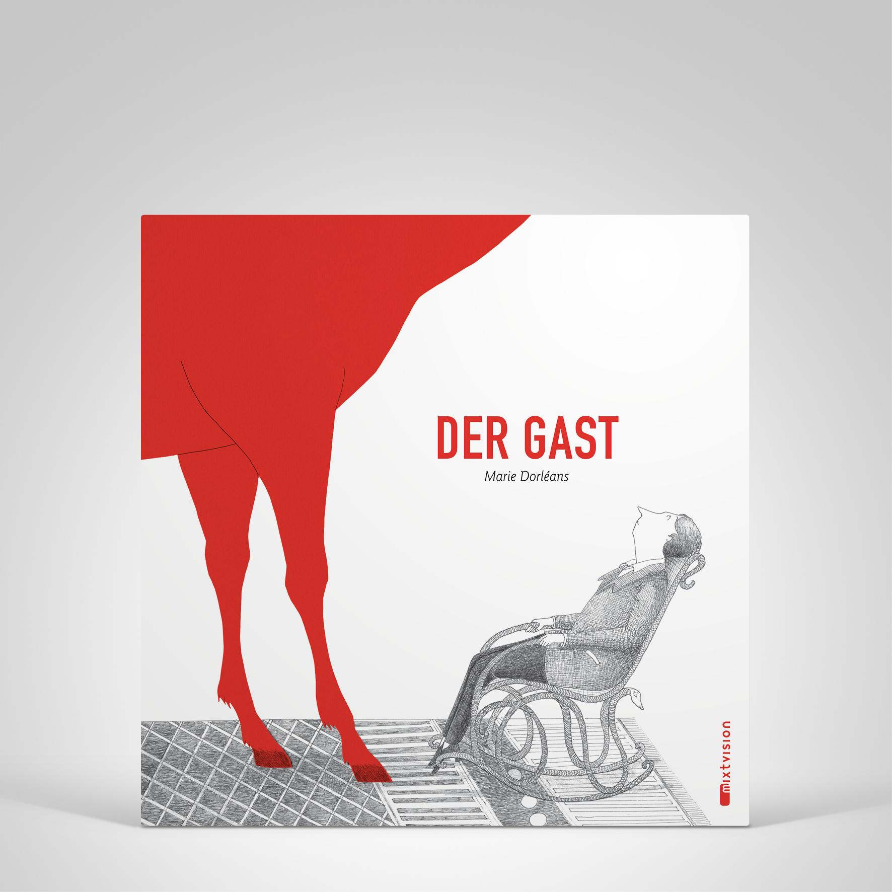 Der Gast, Cover-Abbildung