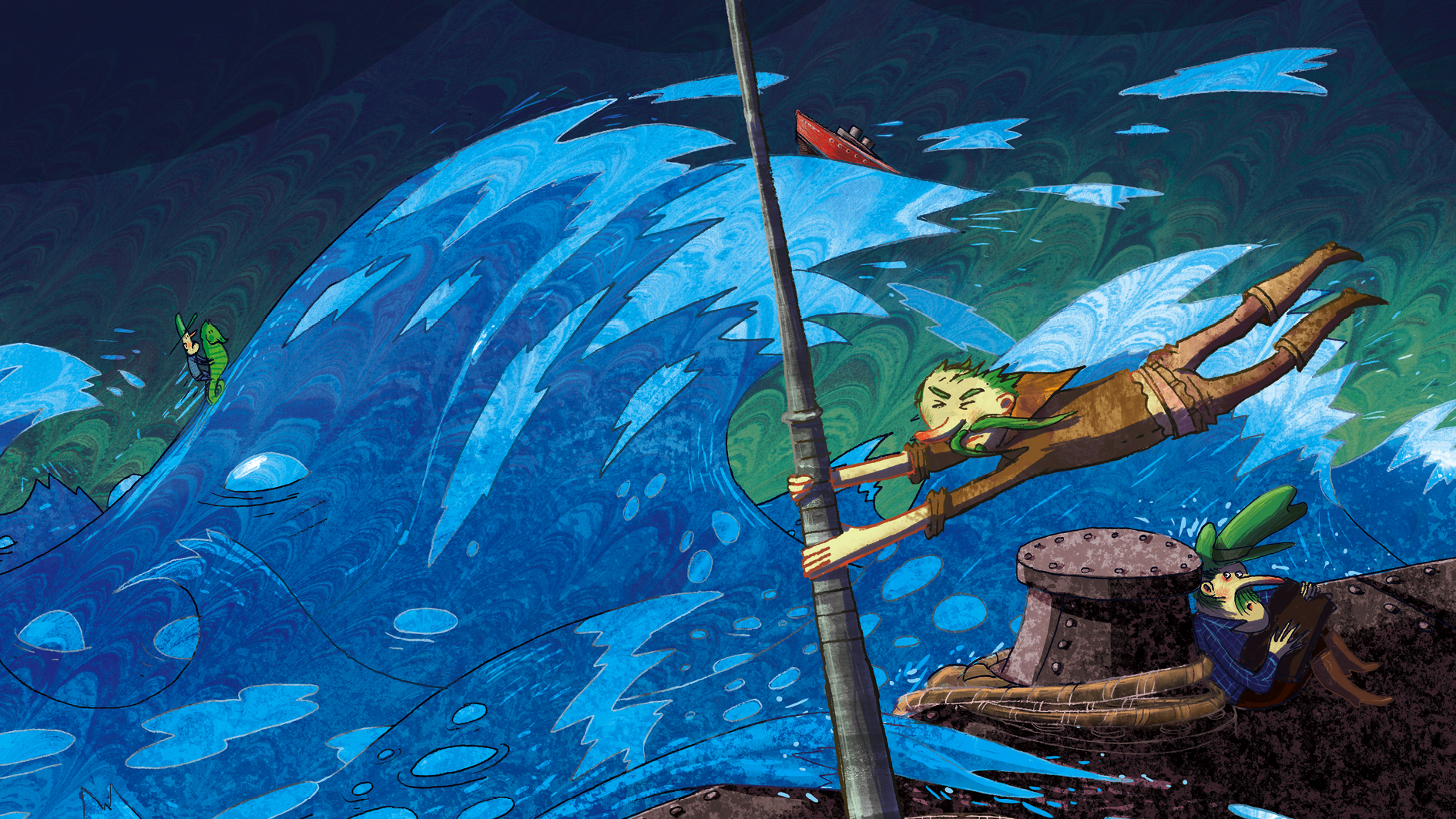 Geckos bunte Geschichtenwelt, Headerbild