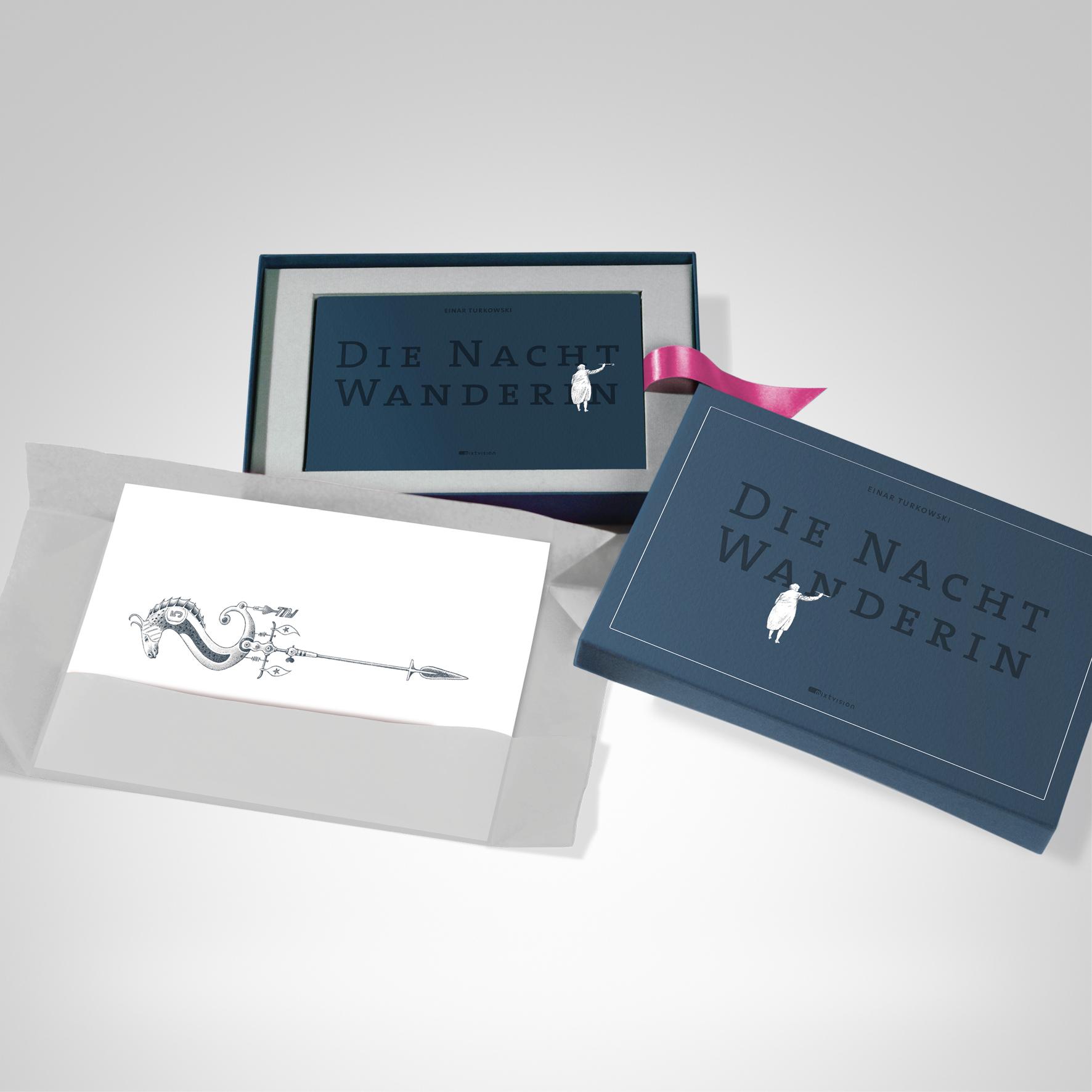 Die Nachtwanderin (Box), Cover-Abbildung