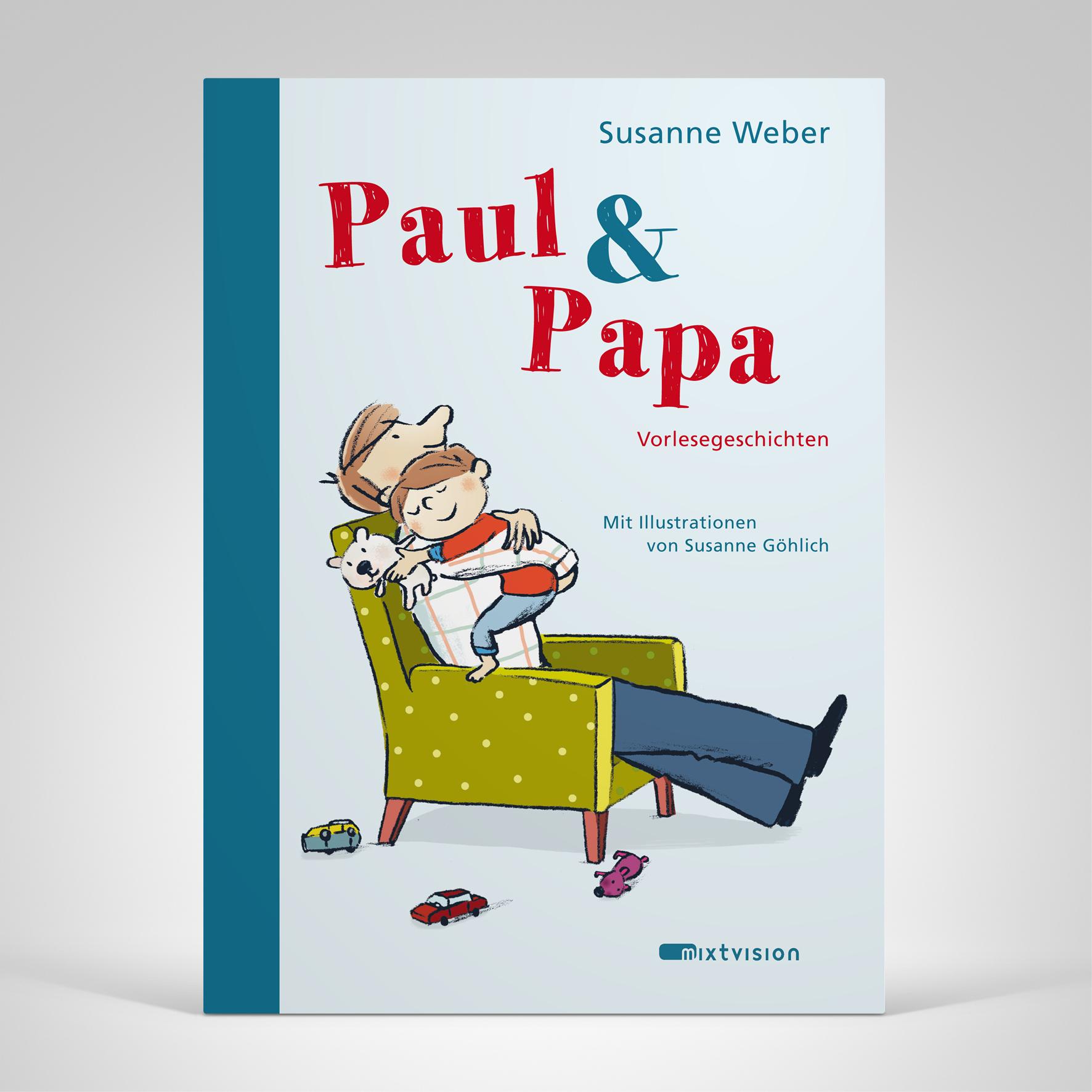 Paul und Papa, Cover-Abbildung