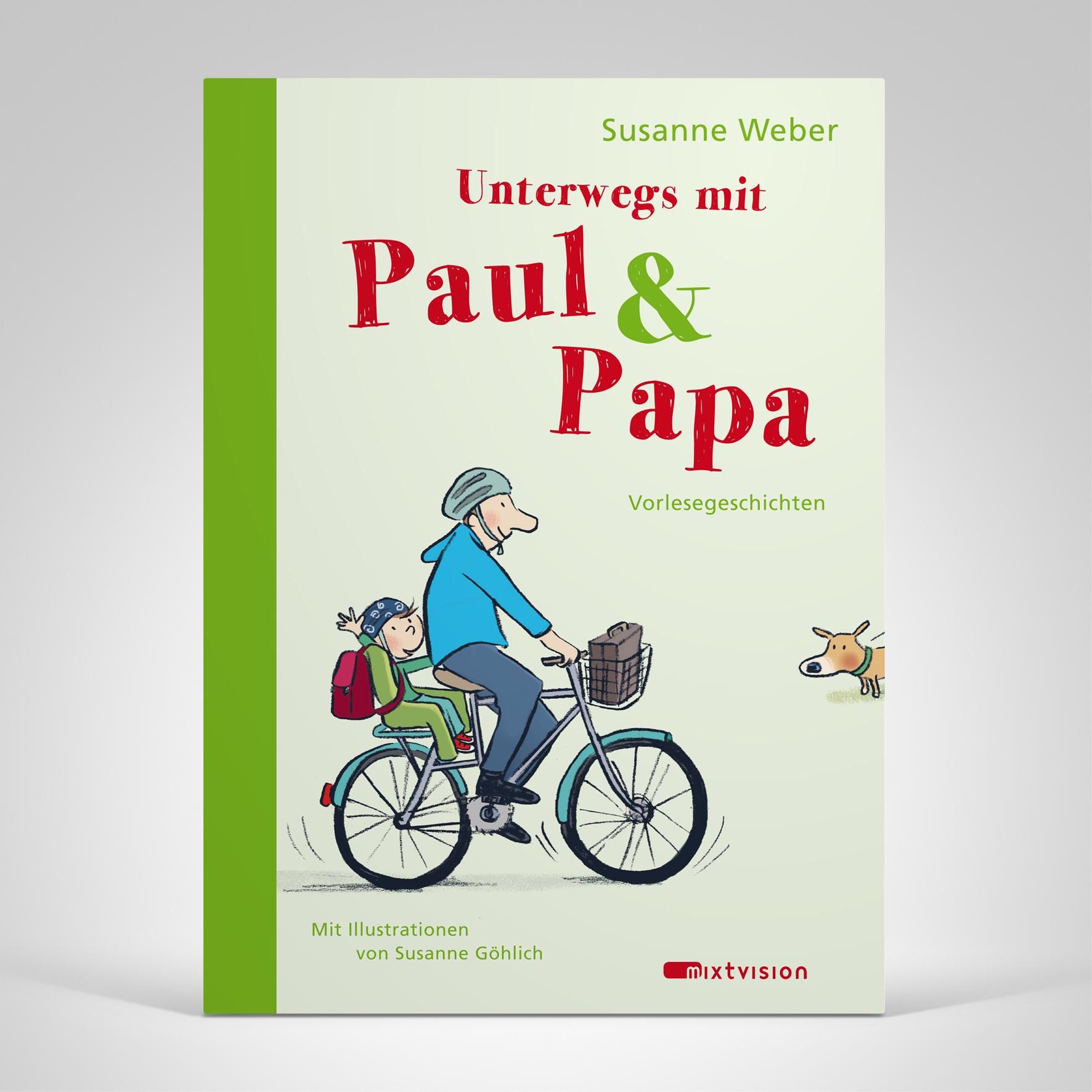 Unterwegs mit Paul und Papa, Cover-Abbildung