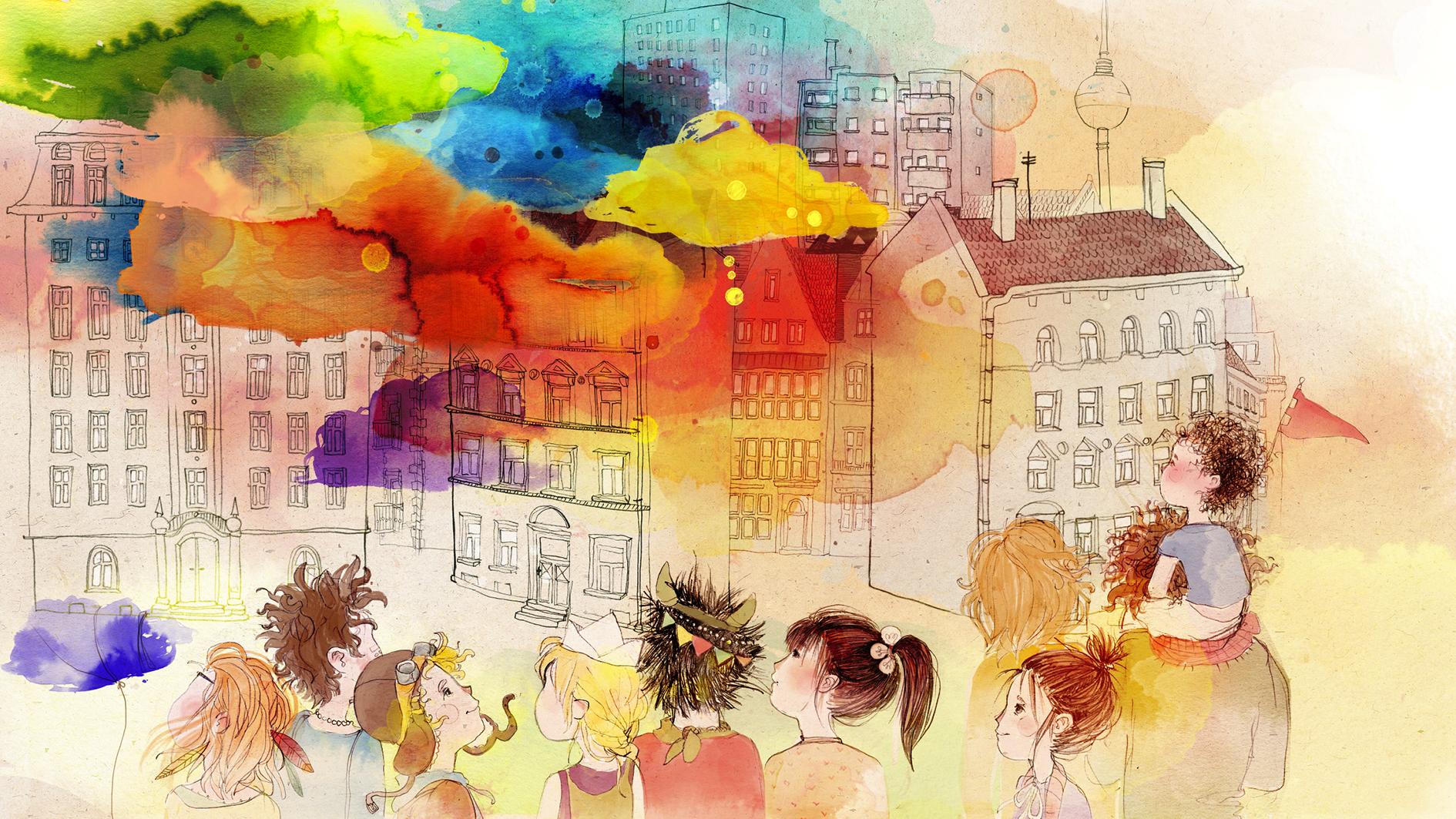 Im Land der Wolken, Headerbild