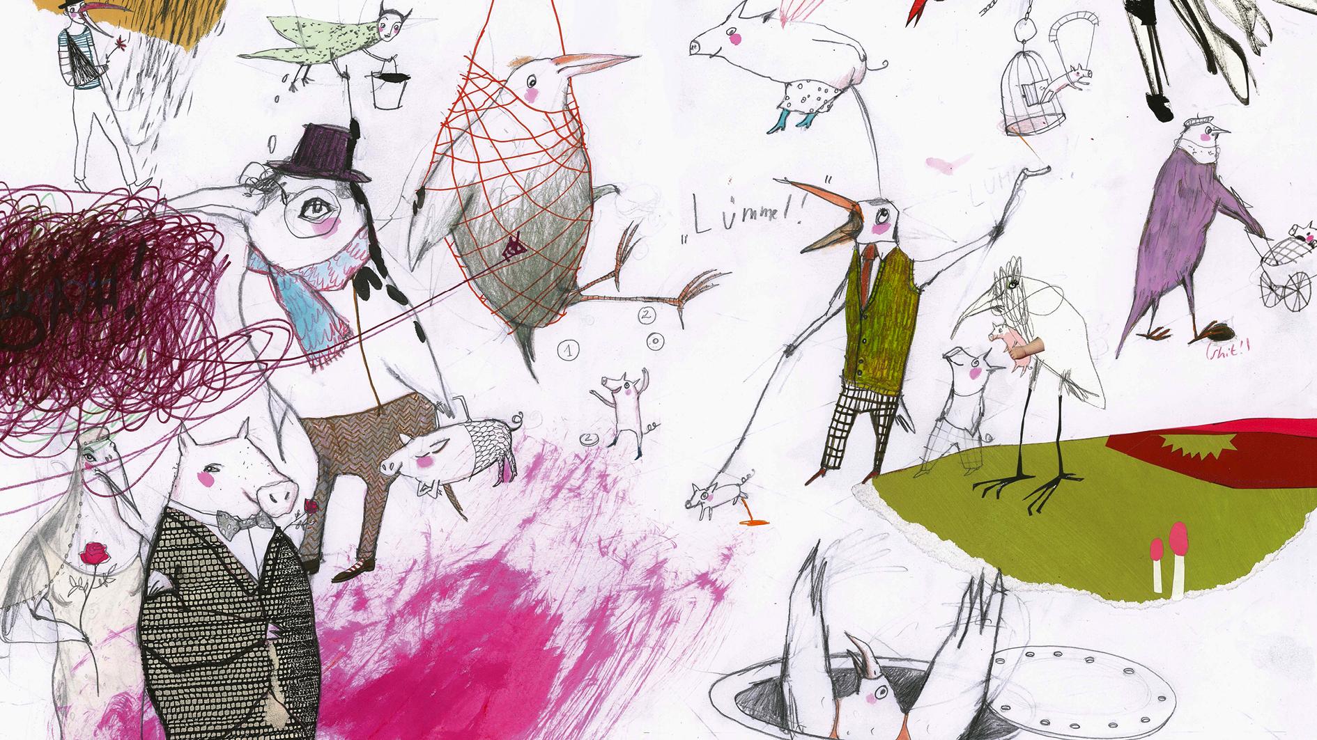 Als die Esel Tango tanzten ..., Headerbild