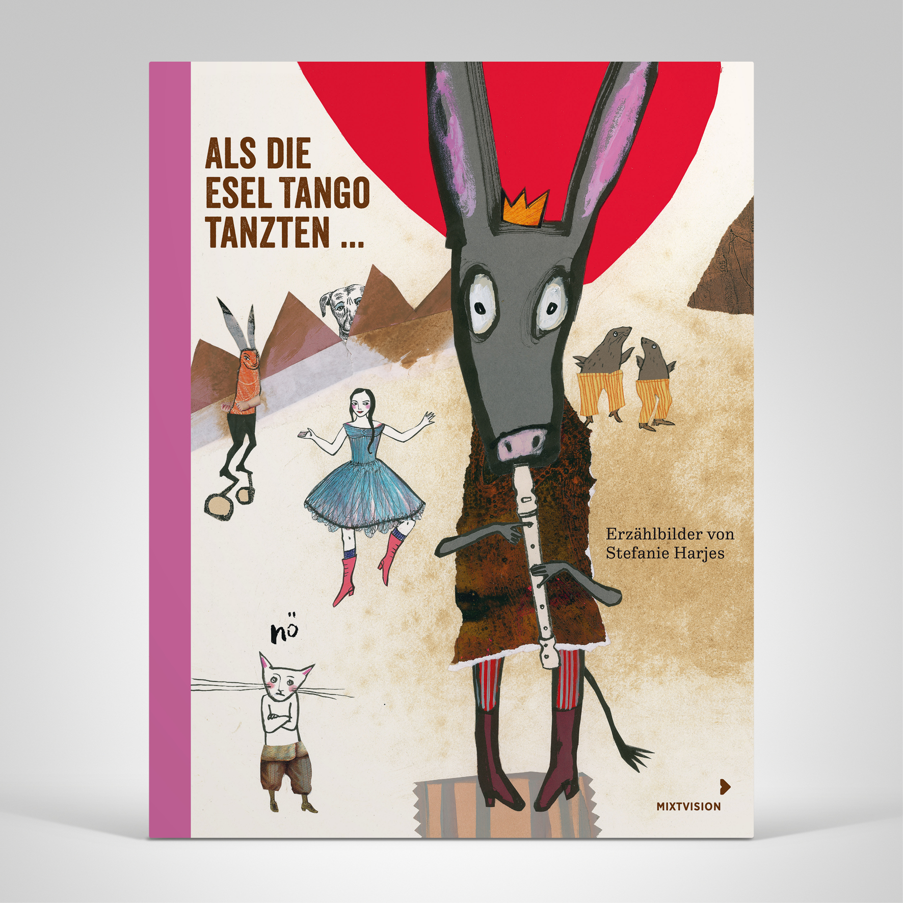 Als die Esel Tango tanzten ..., Cover-Abbildung