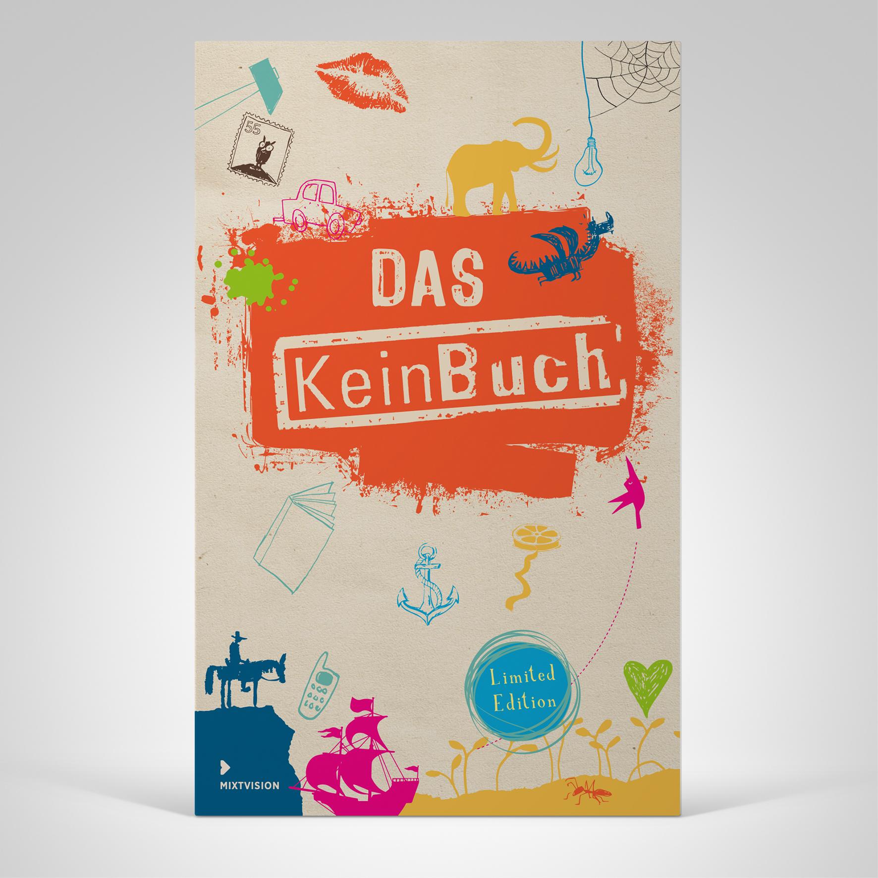 DAS KeinBuch, Cover-Abbildung