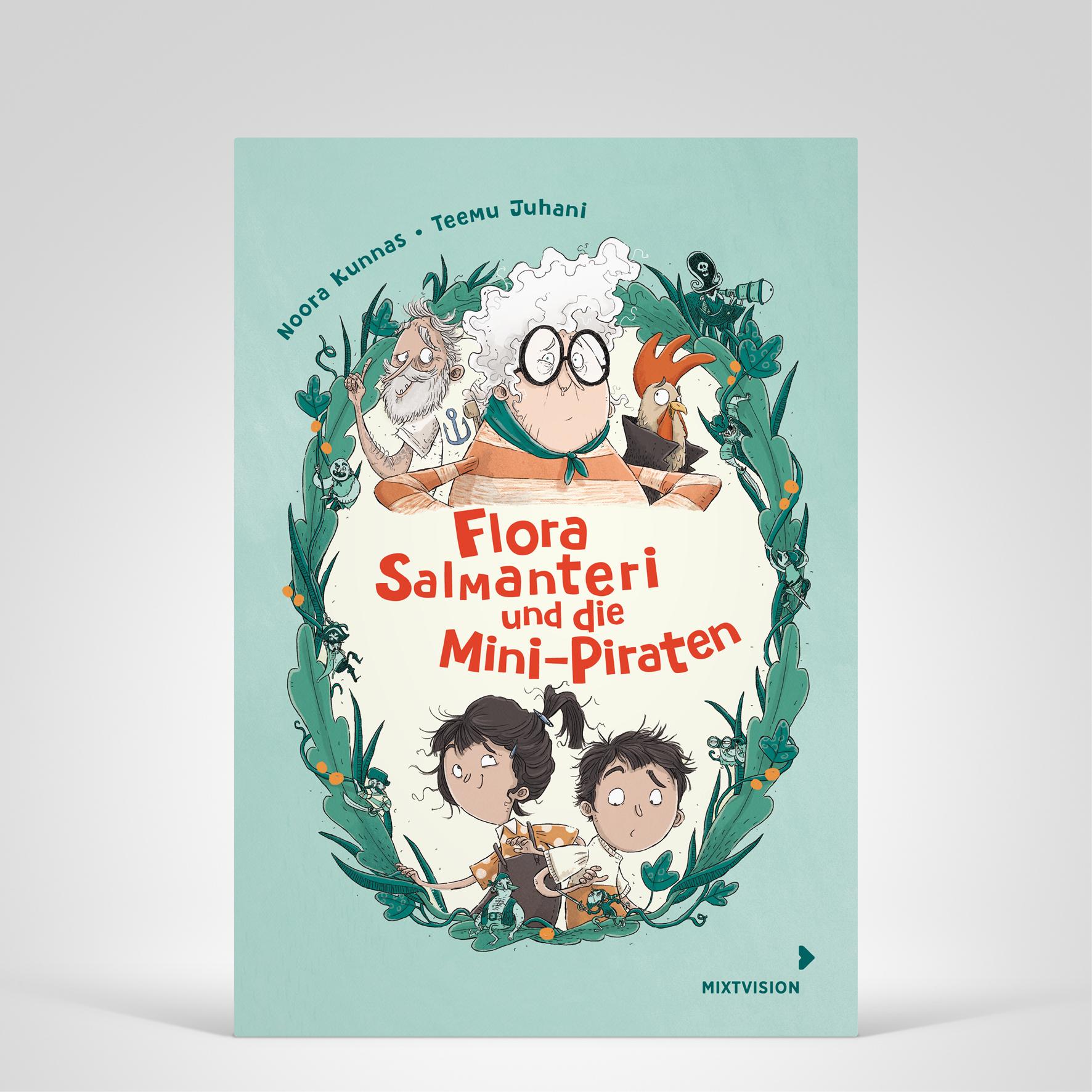 Flora, Cover-Abbildung