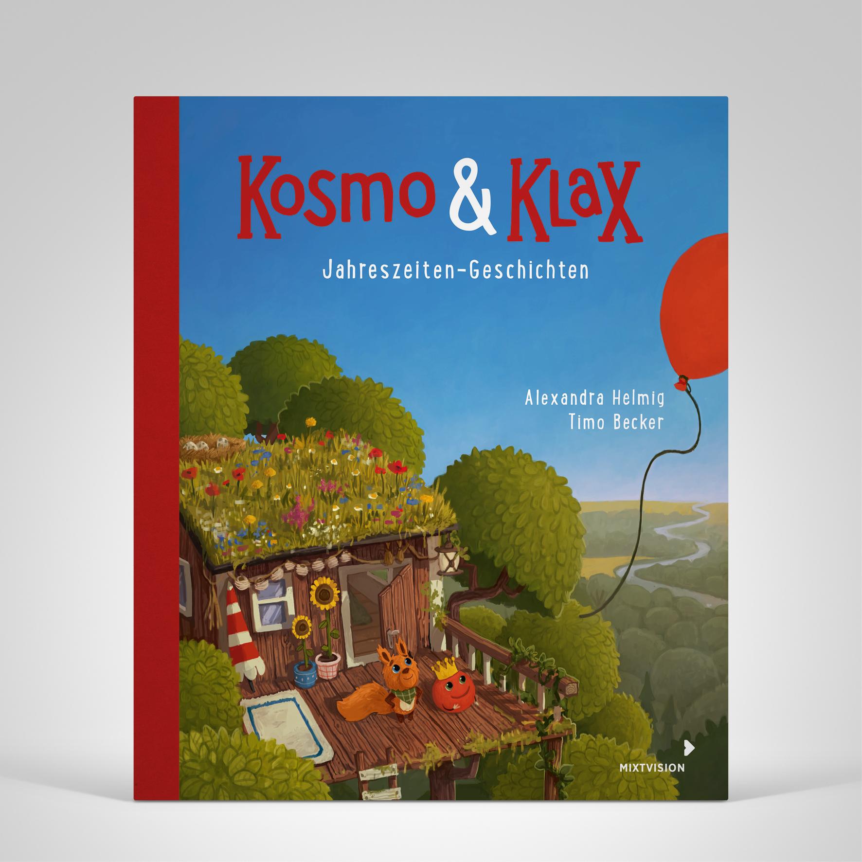 Kosmo & Klax. Jahreszeiten-Geschichten, Cover-Abbildung