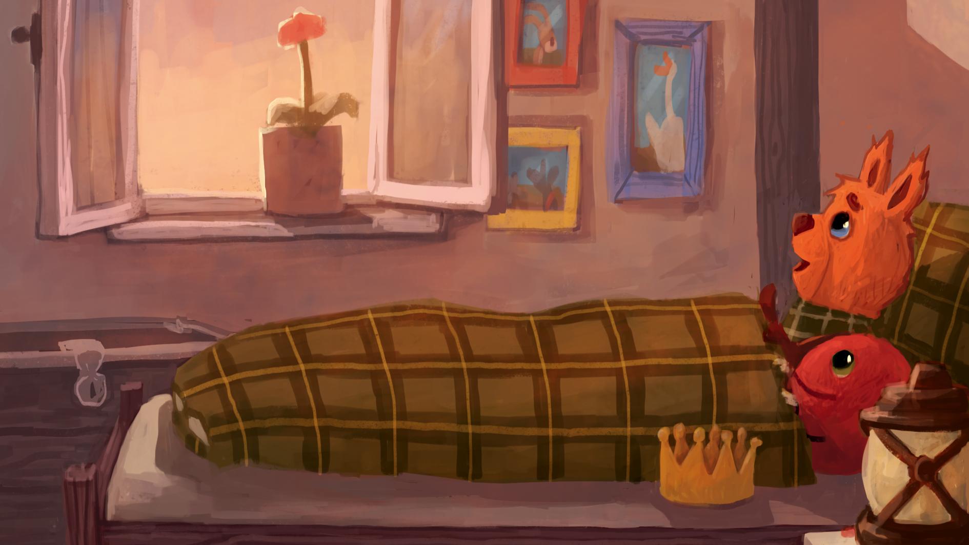 Kosmo & Klax. Gute-Nacht-Geschichten, Headerbild