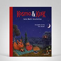 Kosmo & Klax. Gute-Nacht-Geschichten, Cover-Abbildung