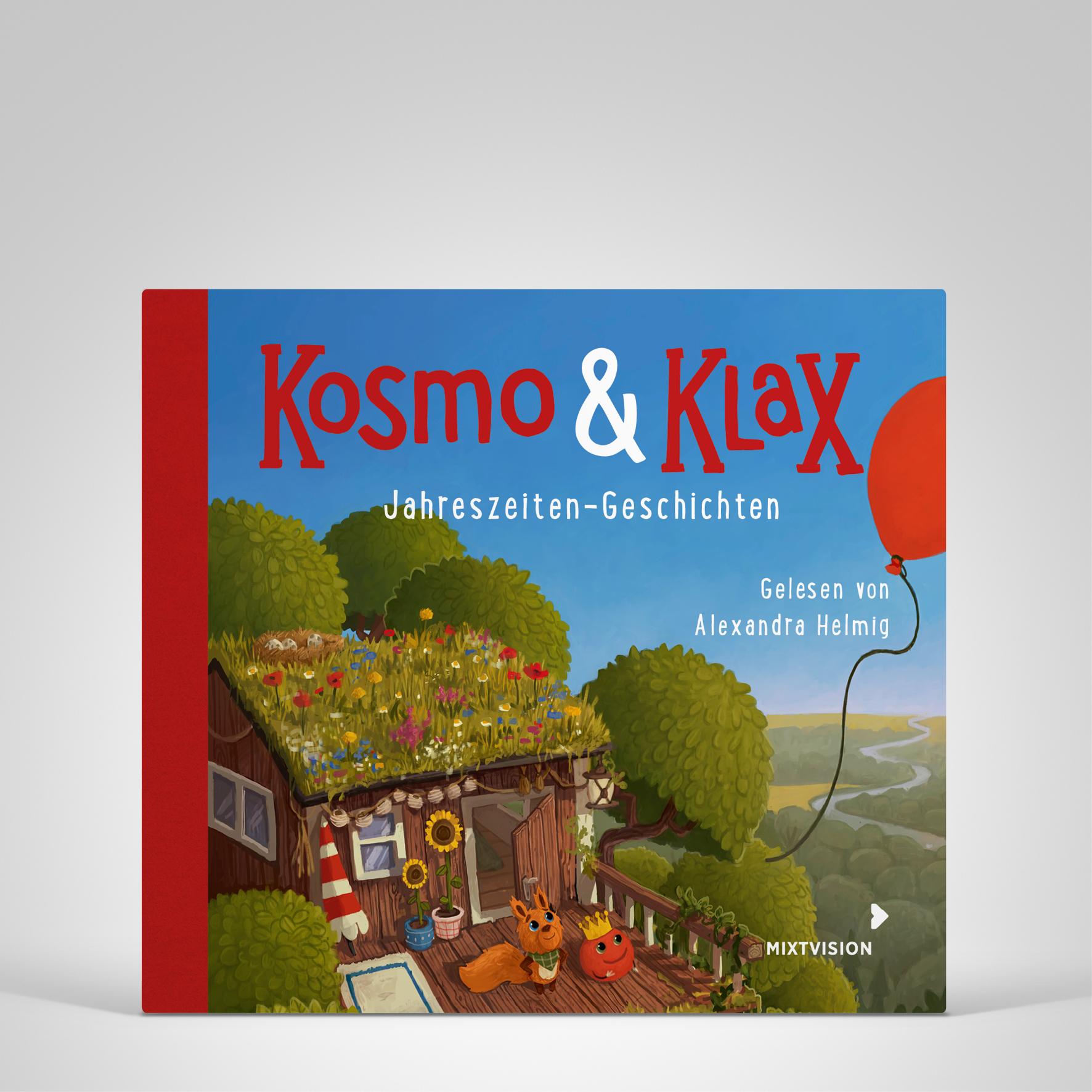 Kosmo & Klax. Jahreszeiten-Geschichten CD, Cover-Abbildung