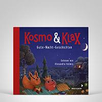 Kosmo & Klax. Gute-Nacht-Geschichten CD, Cover-Abbildung