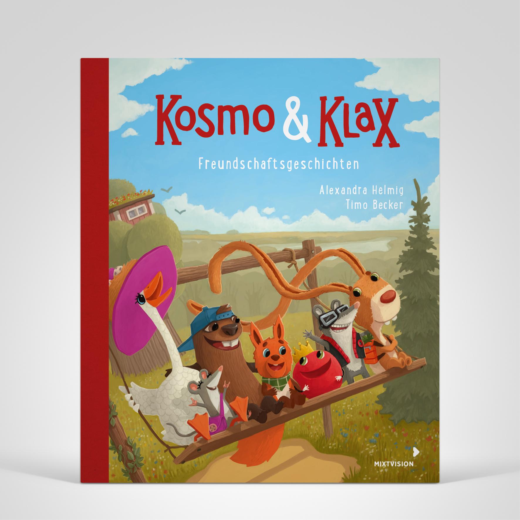Kosmo & Klax. Freundschaftsgeschichten, Coverbild
