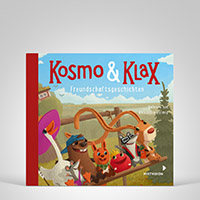 Kosmo & Klax. Freundschaftsgeschichten. H�rbuch, Coverbild