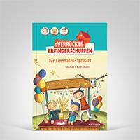 Der verr�ckte Erfinderschuppen - Der Limonaden-Sprudler, Coverbild