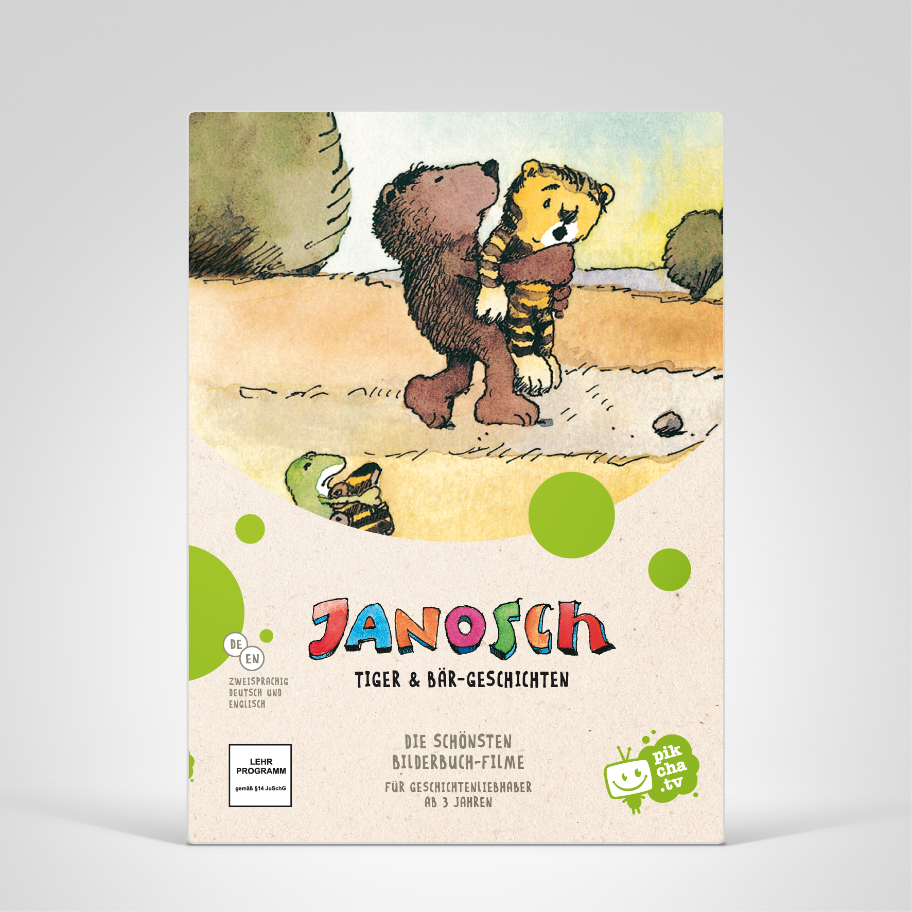Pikcha.TV, Janosch, Cover-Abbildung