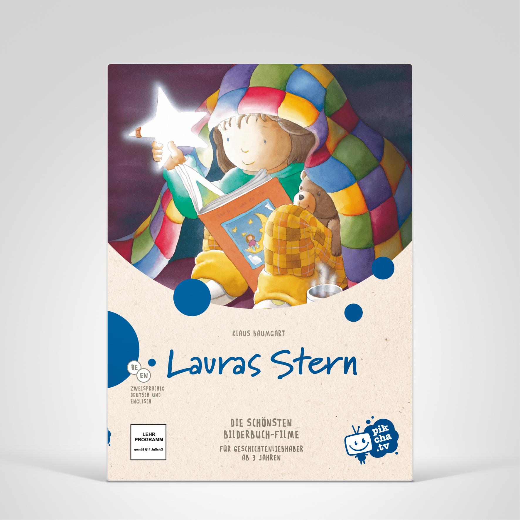 Pikcha.TV, Lauras Stern, Cover-Abbildung