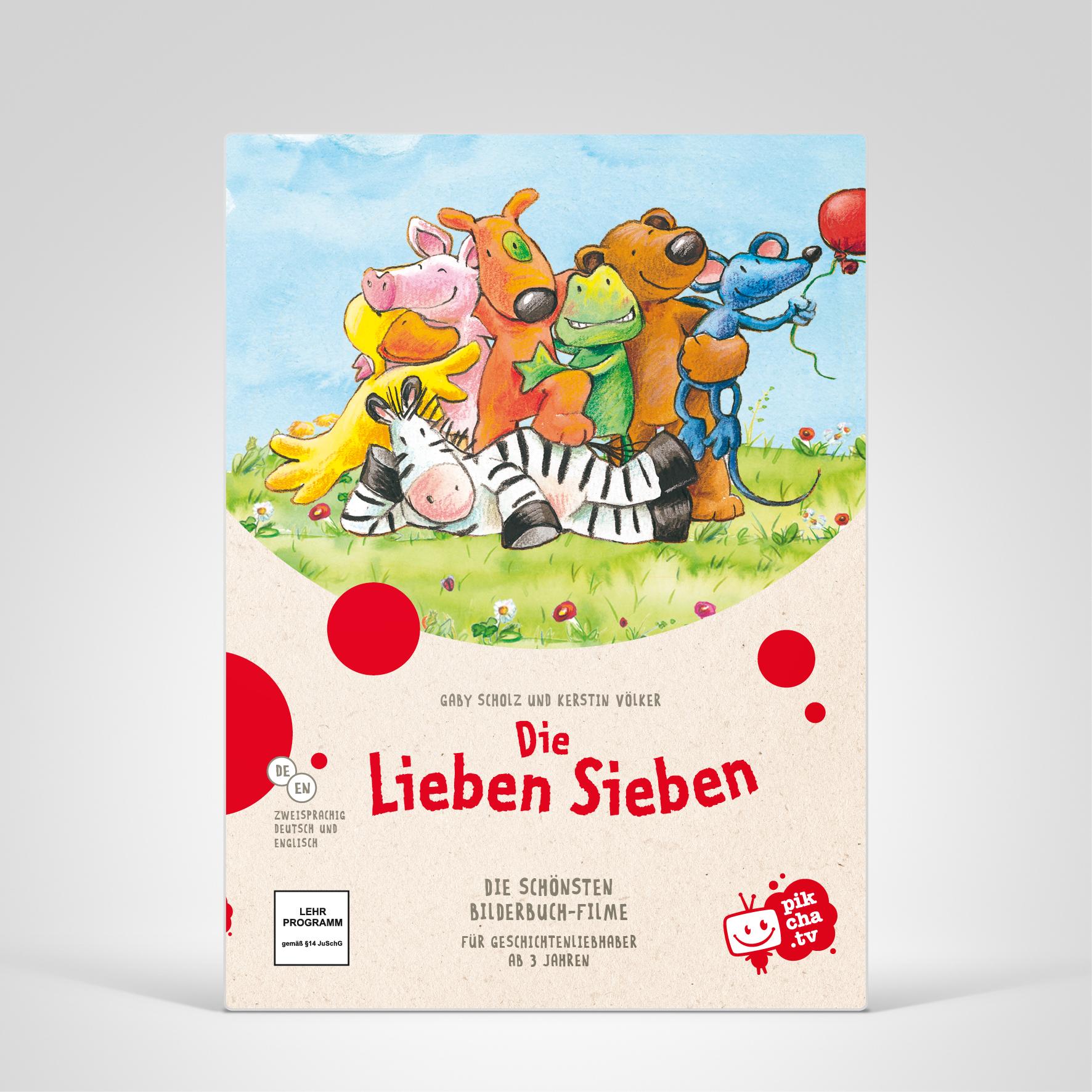 Pikcha.TV, Lieben Sieben, Cover-Abbildung