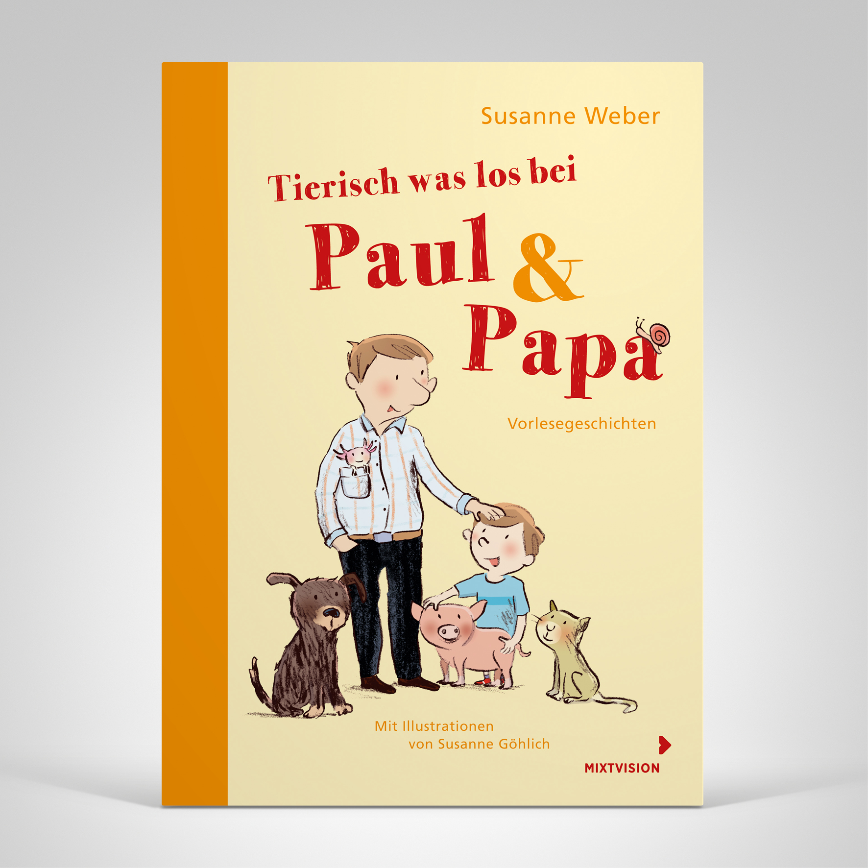 Tierisch was los bei Paul & Papa, Coverbild