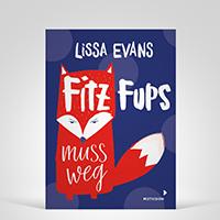 Fitz Fups muss weg, Cover-Abbildung