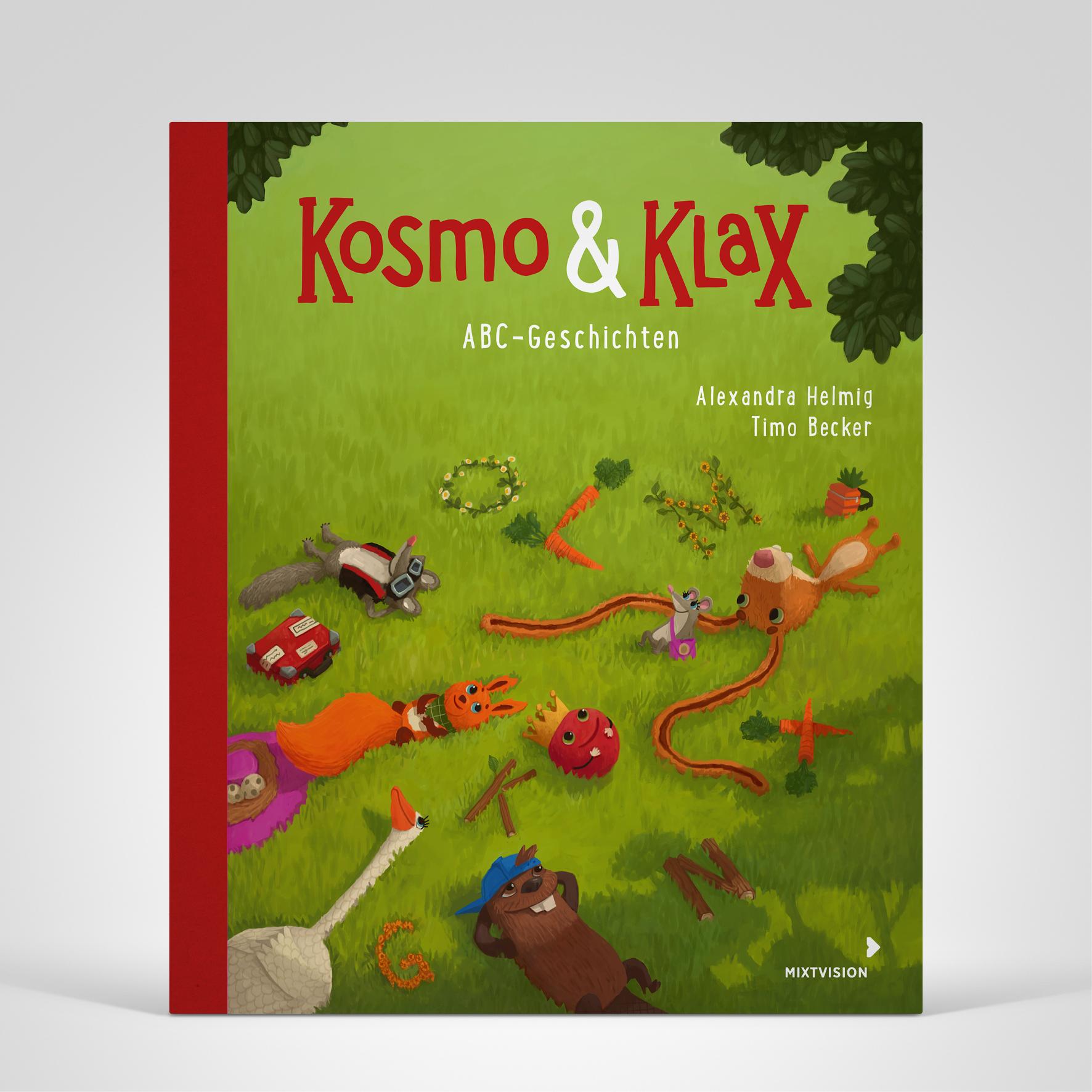 Kosmo & Klax. ABC-Geschichten, Coverbild