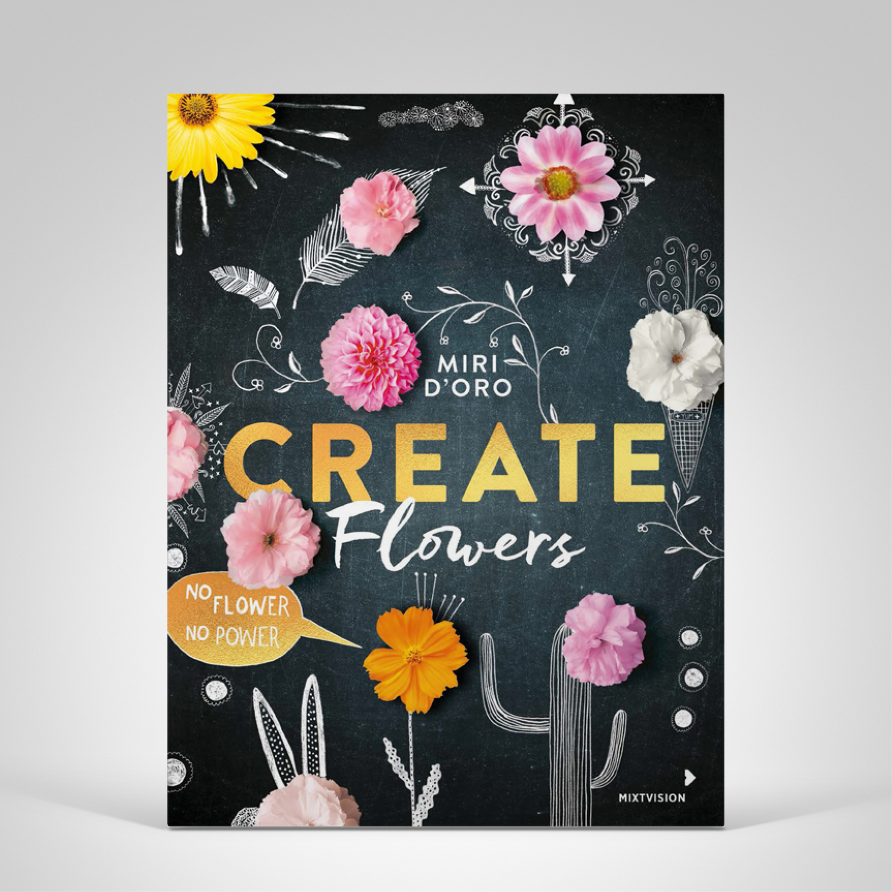Create Flowers, Coverbild