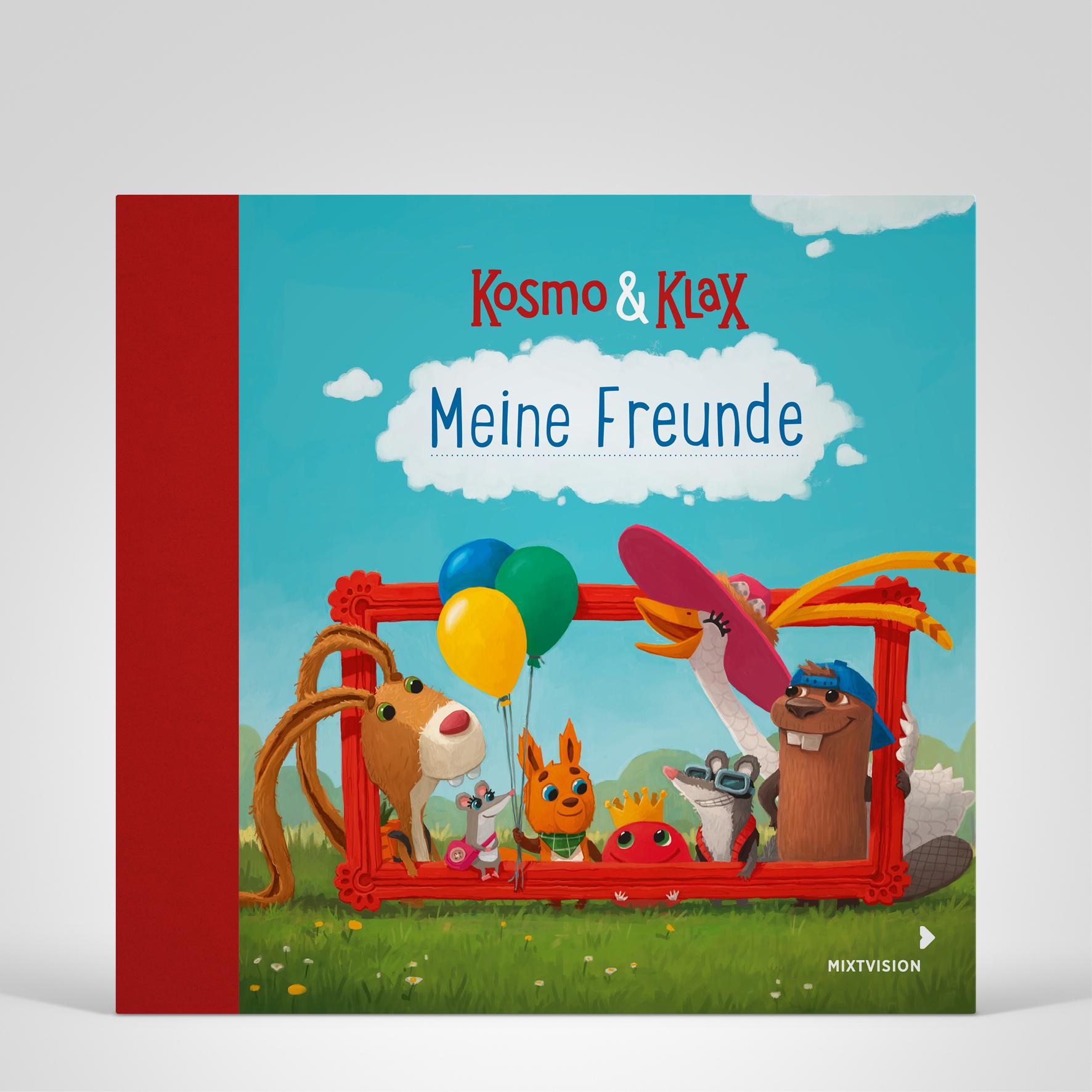 Kosmo & Klax - Freundebuch, Coverbild