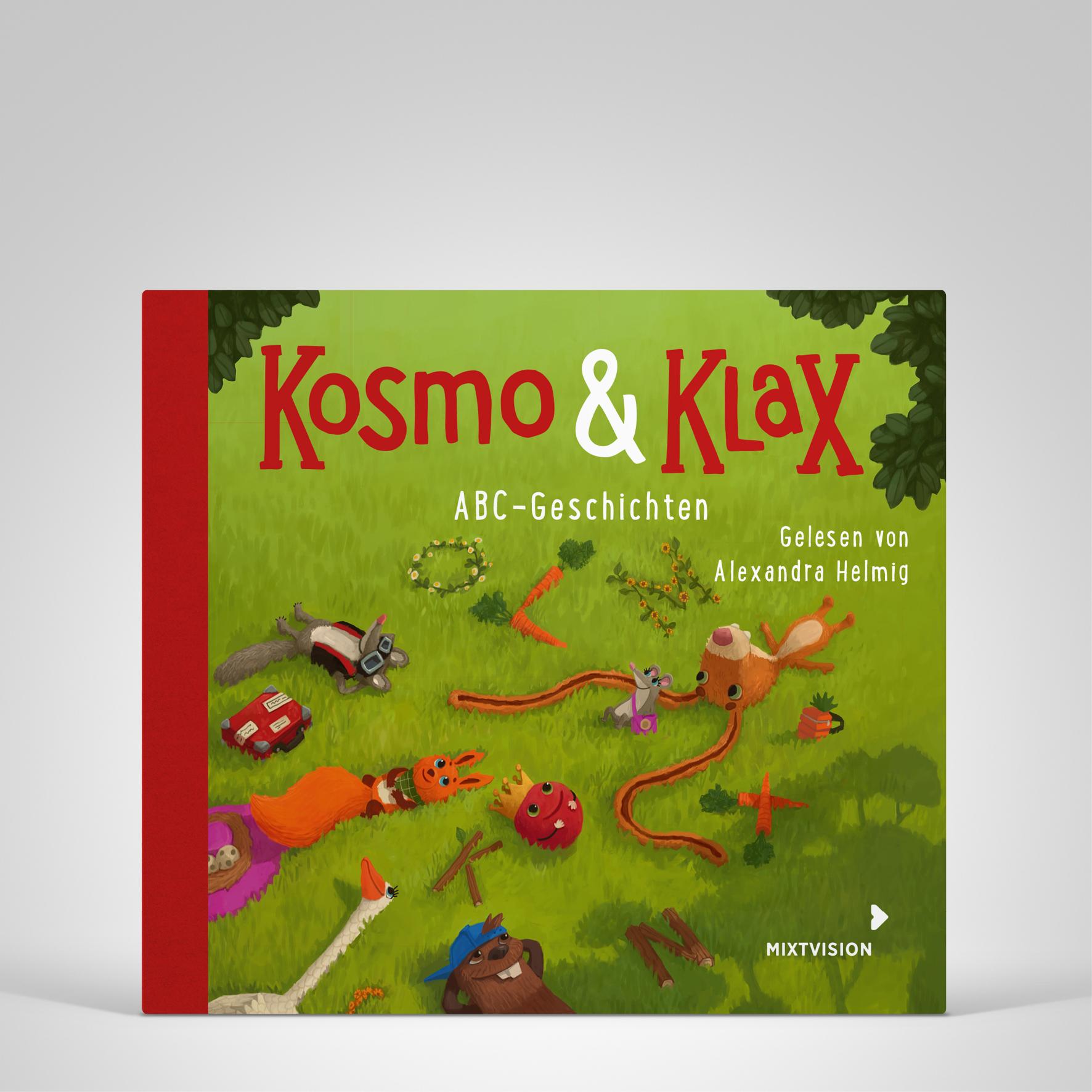 Kosmo & Klax. ABC-Geschichten. H�rbuch, Coverbild