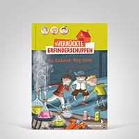 Erfinderschuppen 5 - Das Ruckzuck-Weg-Spray, Titelbild