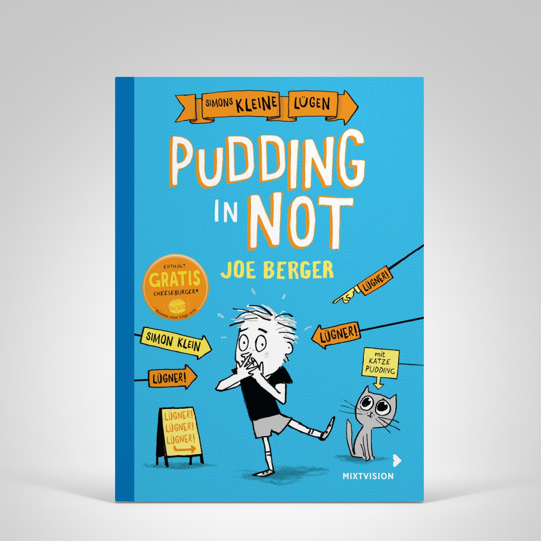 Pudding in Not, Titelbild