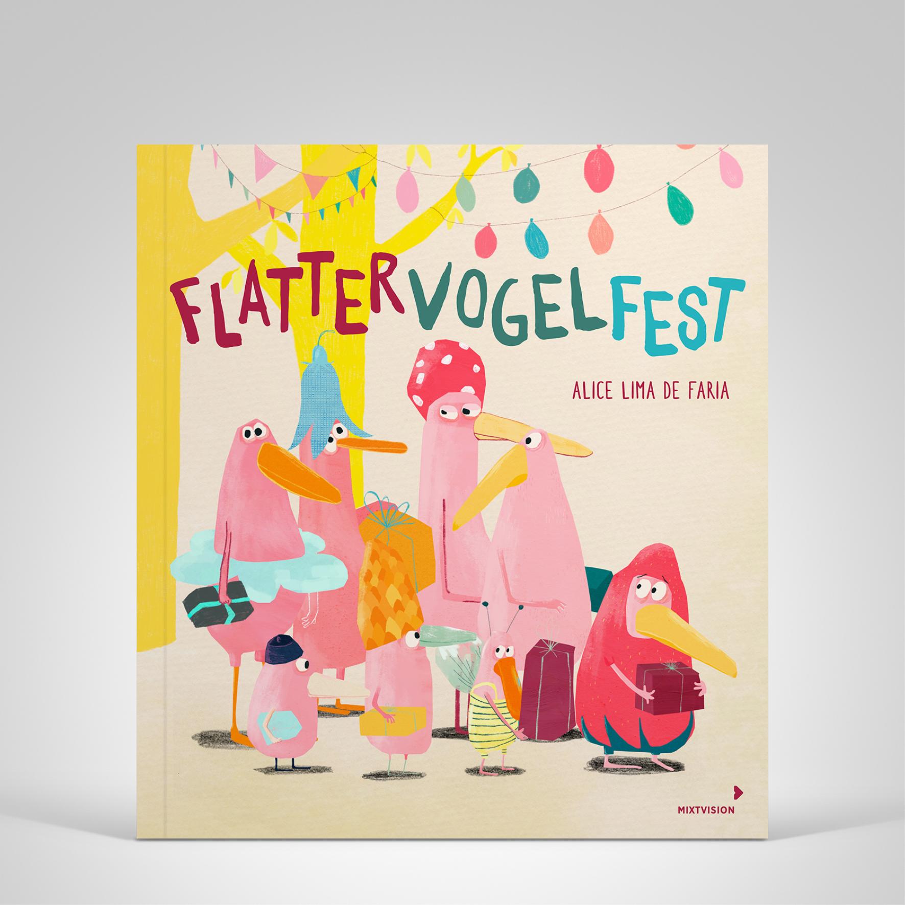 Flattervogelfest, Cover-Abbildung