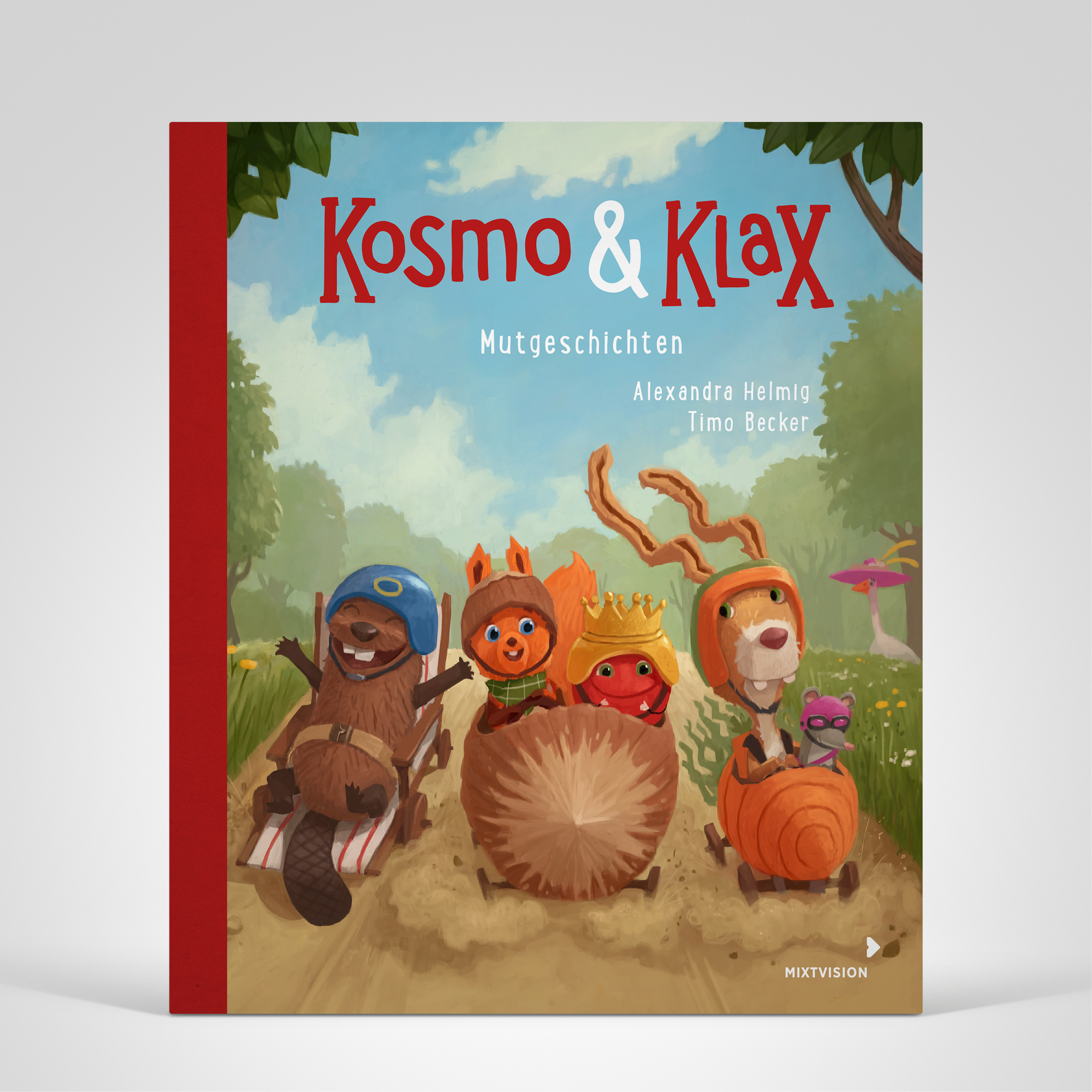 Kosmo und Klax Mutgeschichten, Titelbild