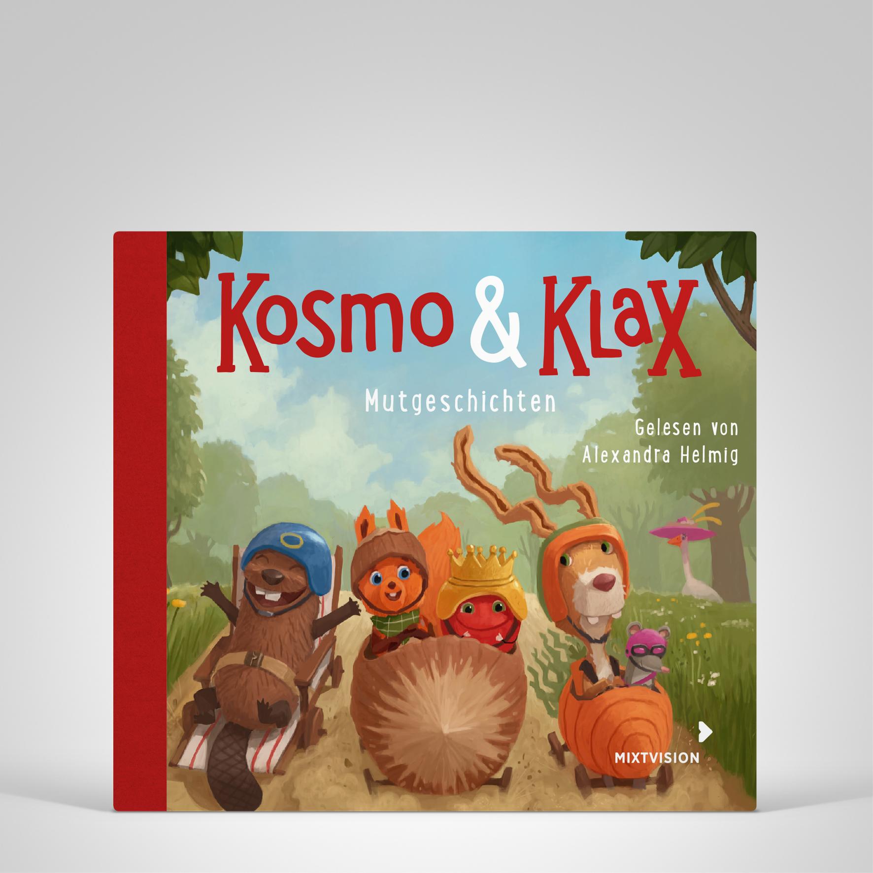 Kosmo und Klax Mutgeschichten H�rbuch, Titelbild
