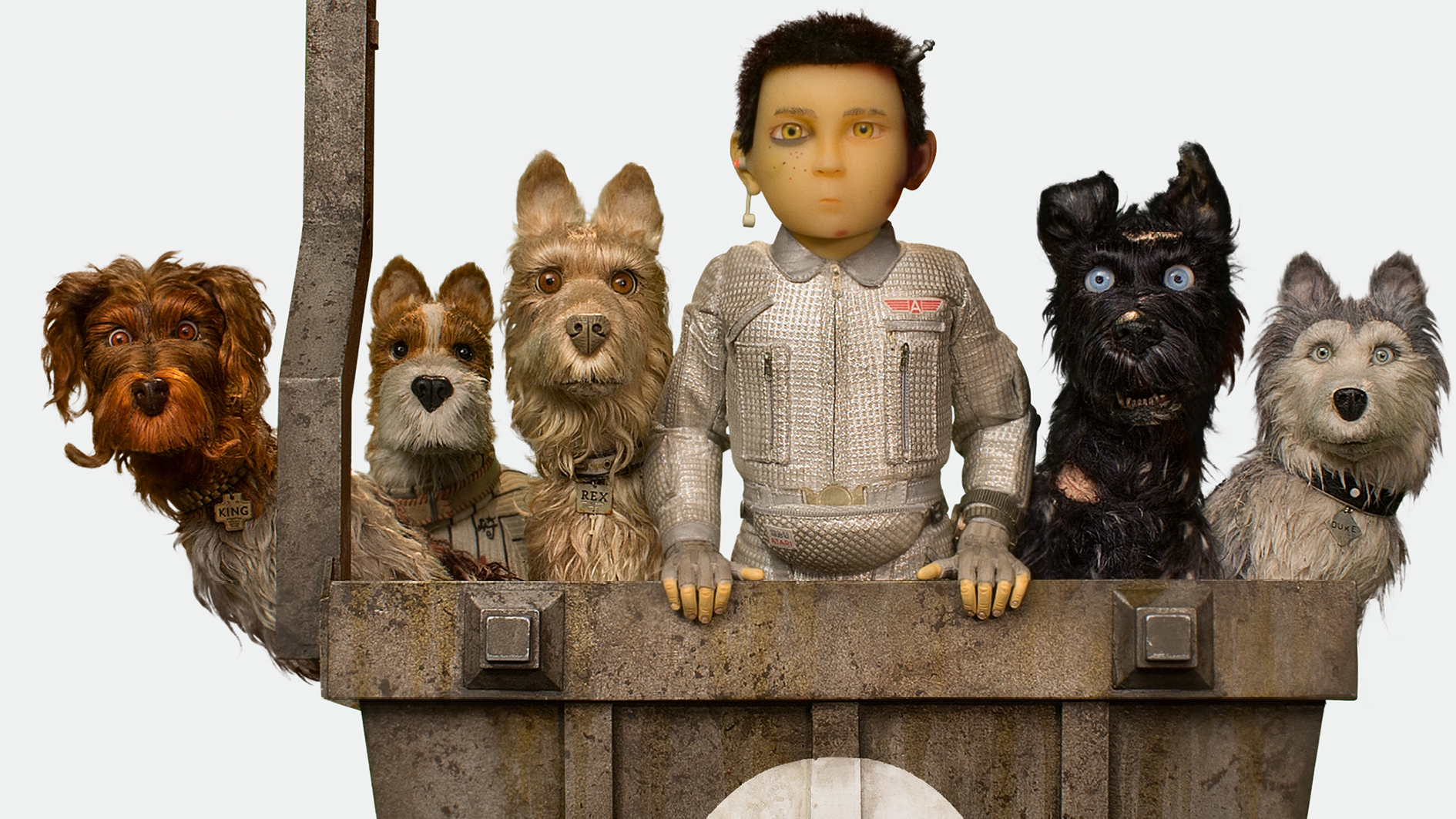 Wes Anderson. Isle of Dogs, Headerbild