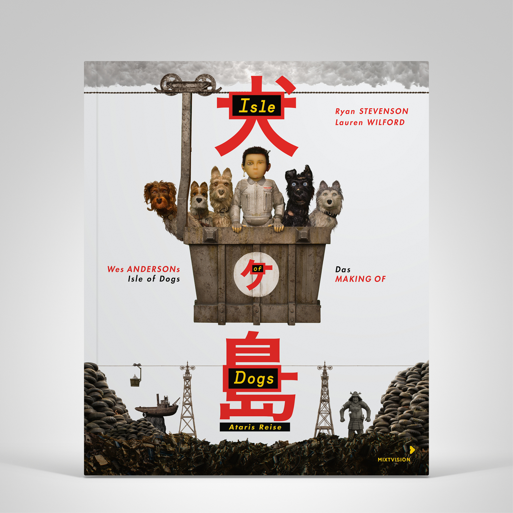 Wes Anderson. Isle of Dogs, Produktbild