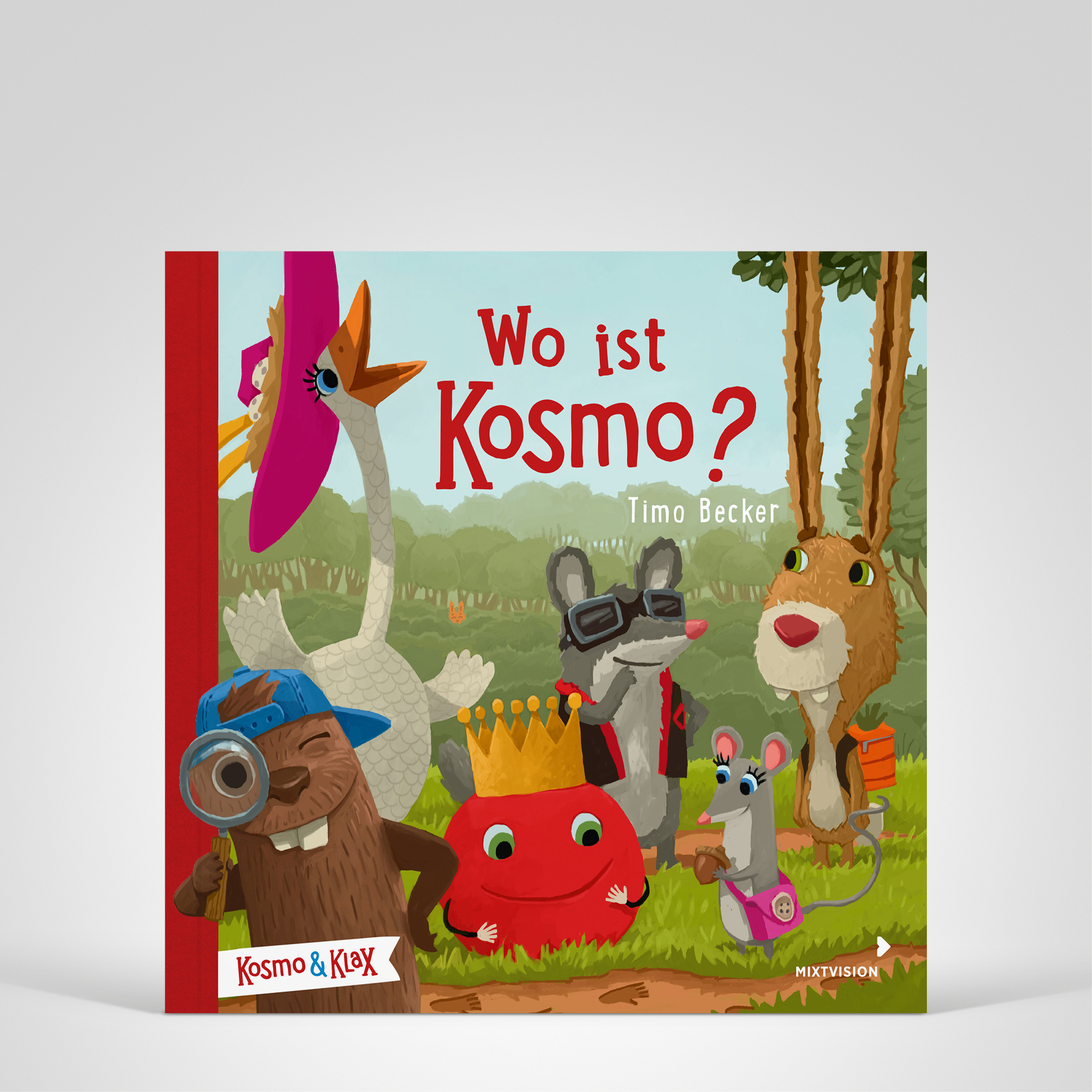 Wo ist Kosmo?, Cover-Abbildung