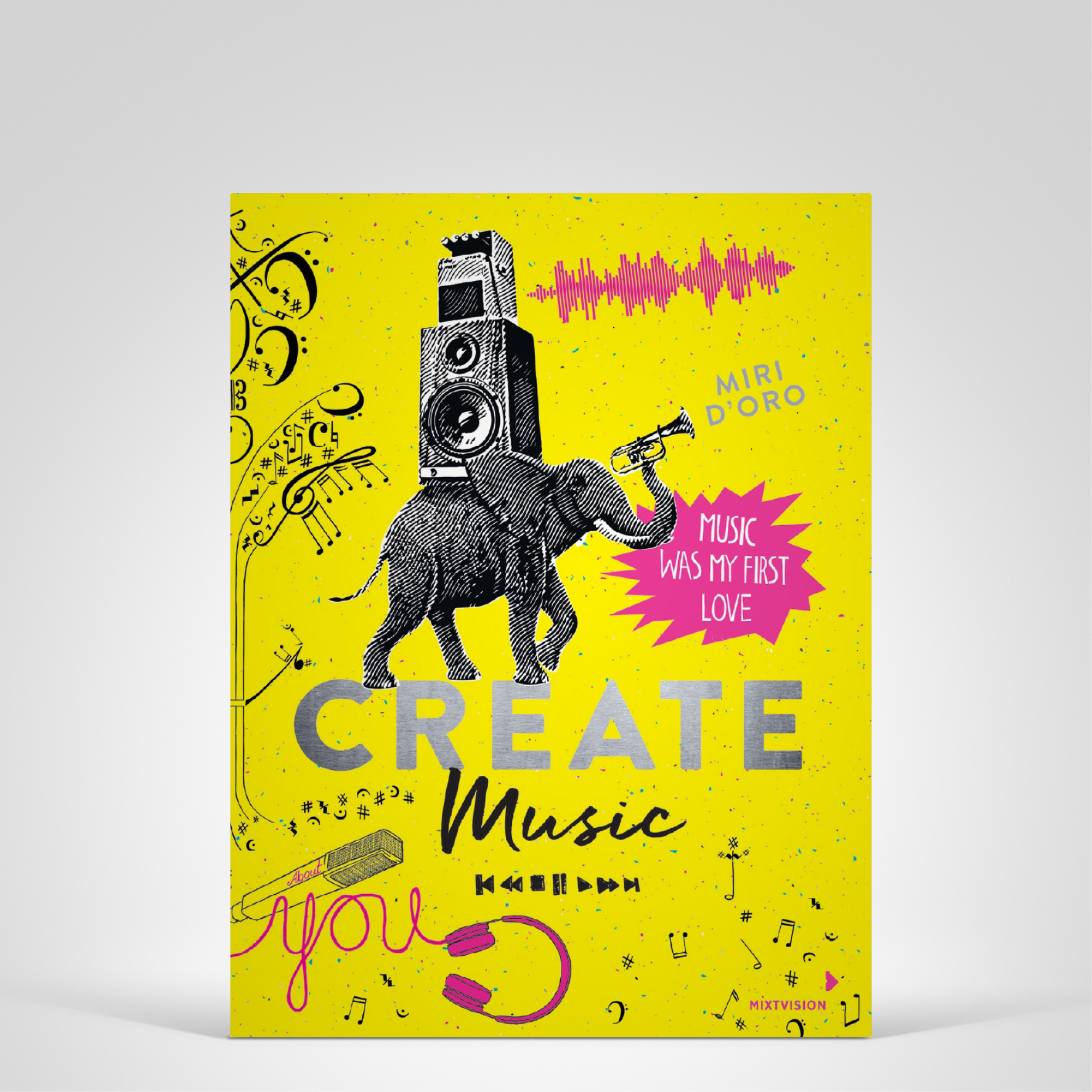 Create Music, Cover-Abbildung