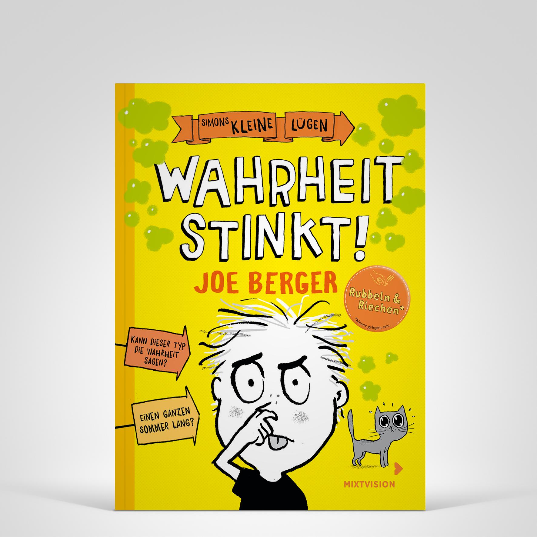 Wahrheit stinkt!, Cover-Abbildung