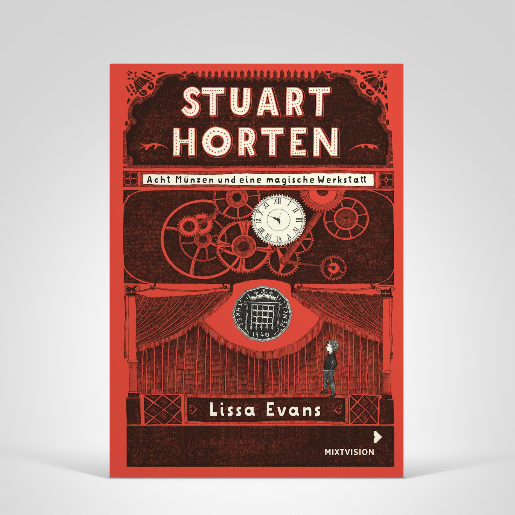 Stuart Horten Band 1, Cover-Abbildung