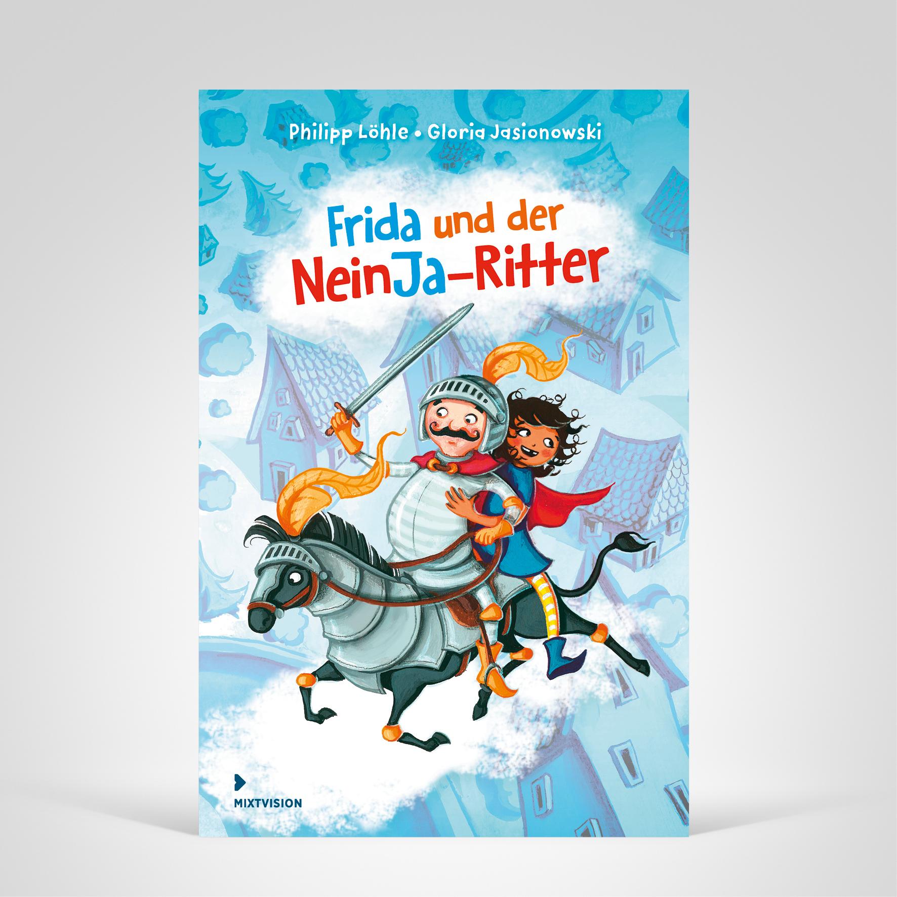 Frida und der NeinJa-Ritter, Titelbild