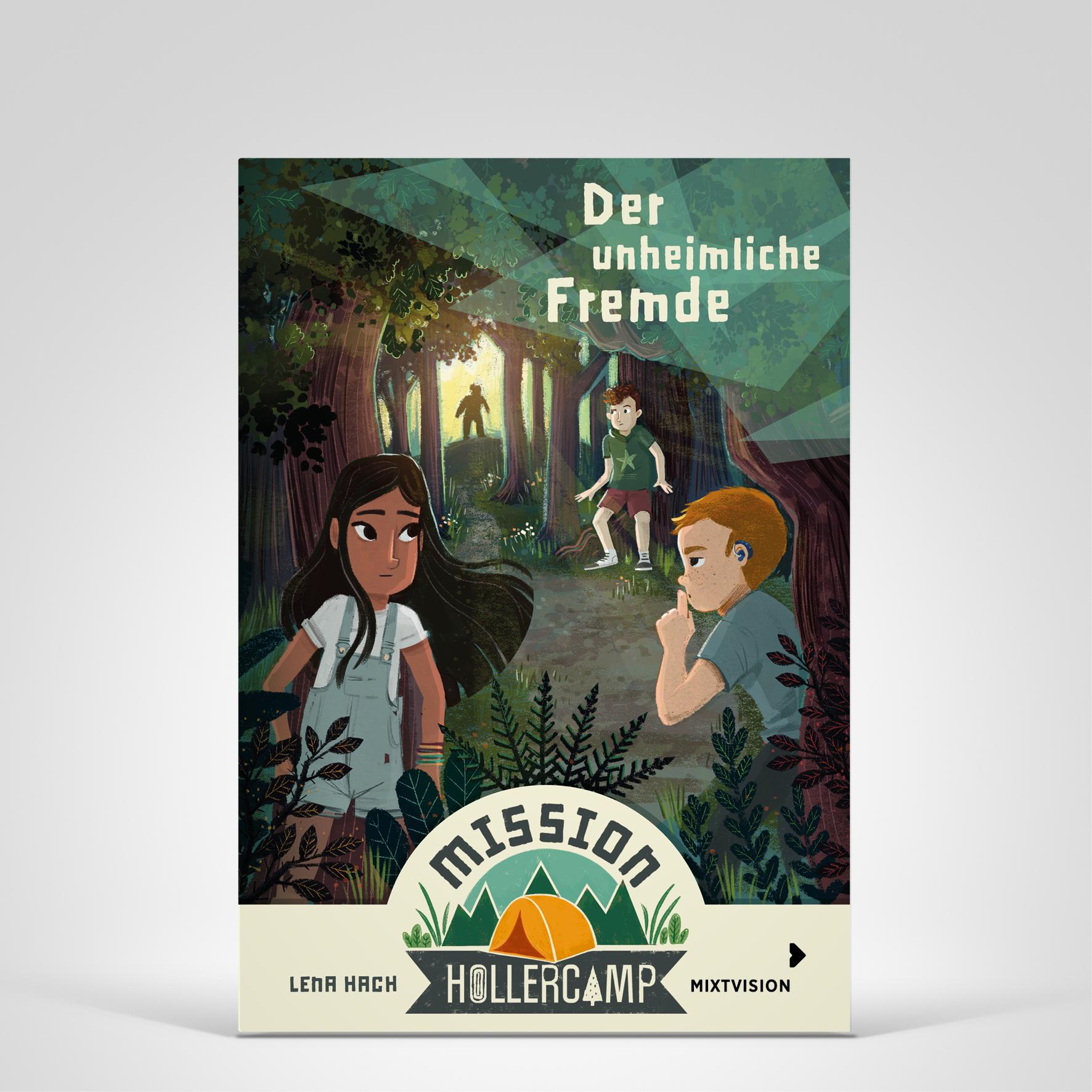 Mission Hollercamp Bd1, Cover-Abbildung