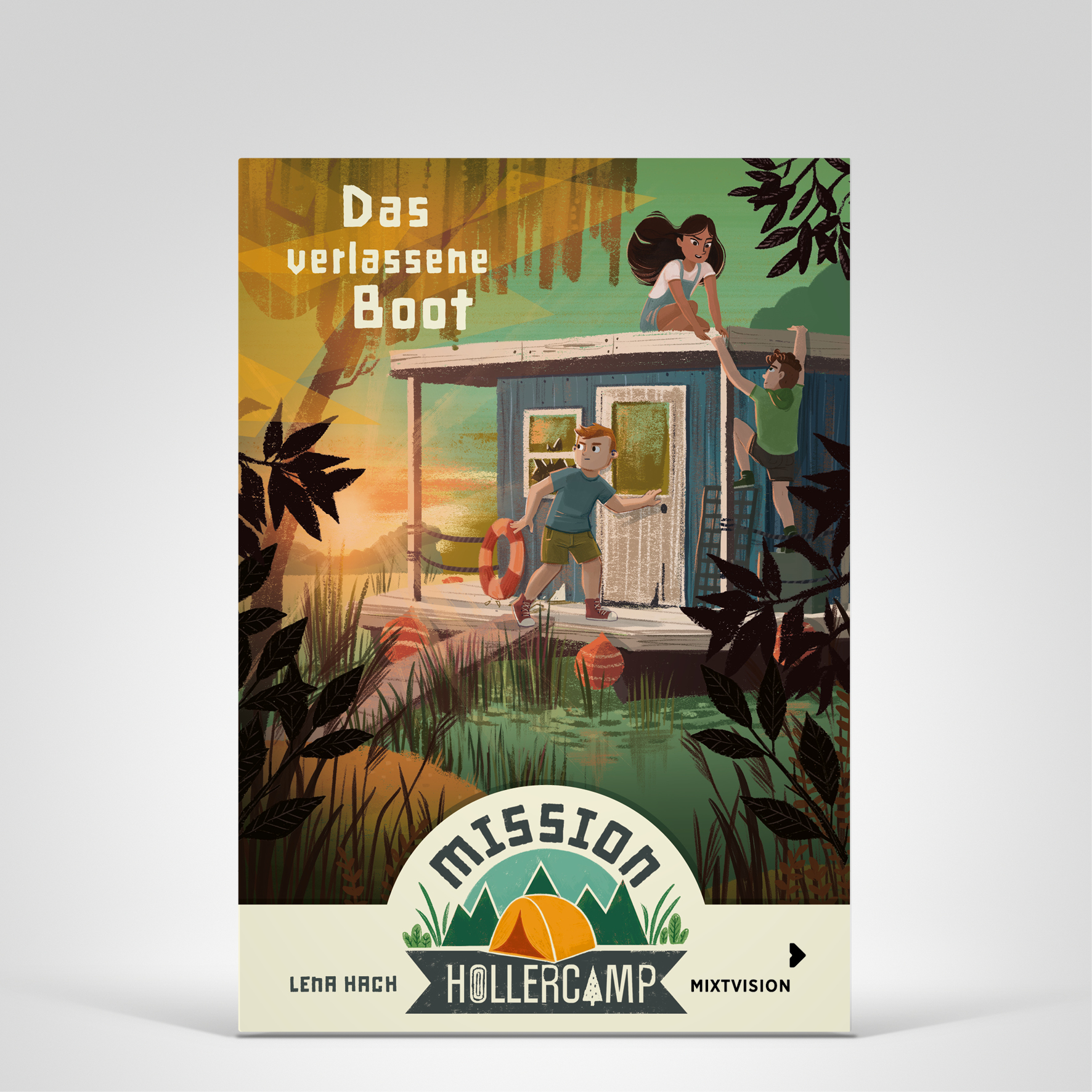 Mission Hollercamp Bd2, Cover-Abbildung