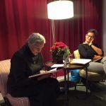 Antonie Schneider liest.