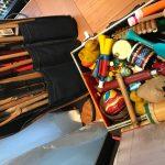 Das Equipment von Geräuschemacher Yogo Pausch
