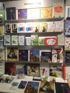 Der Mixtvision-Stand auf der Münchner Bücherschau.