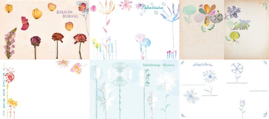 Create Flowers: Beispielseiten